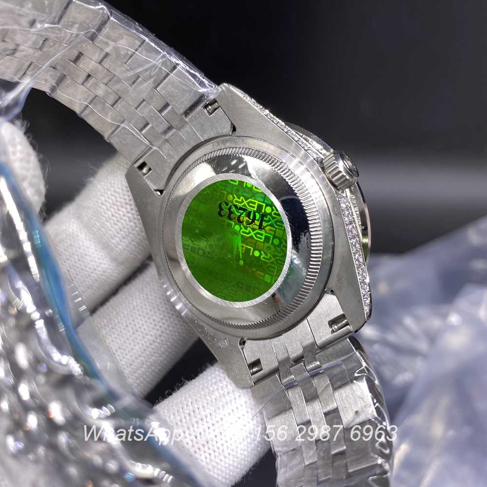 R110BL264, Datejust 40mm diamonds case automatic AAA with jubilee strap