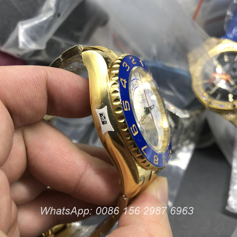 R180WT306, YM II yellow gold JF factory high grade 7750 movement 44mm stopwatch