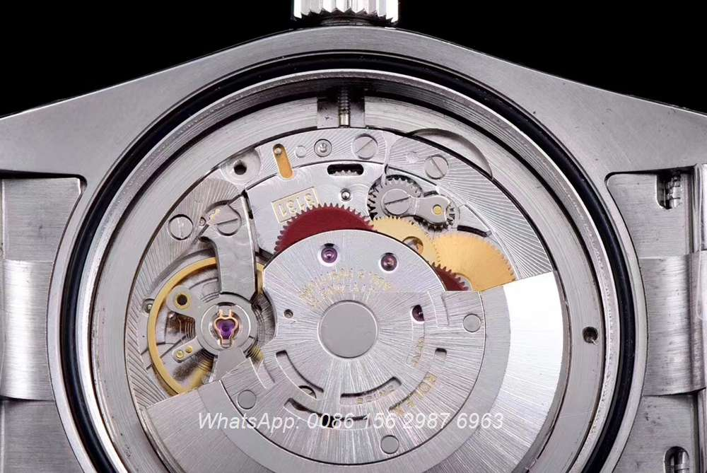 R155SF308, Milgauss AR factory automatic 3131 movement great quality silver/black
