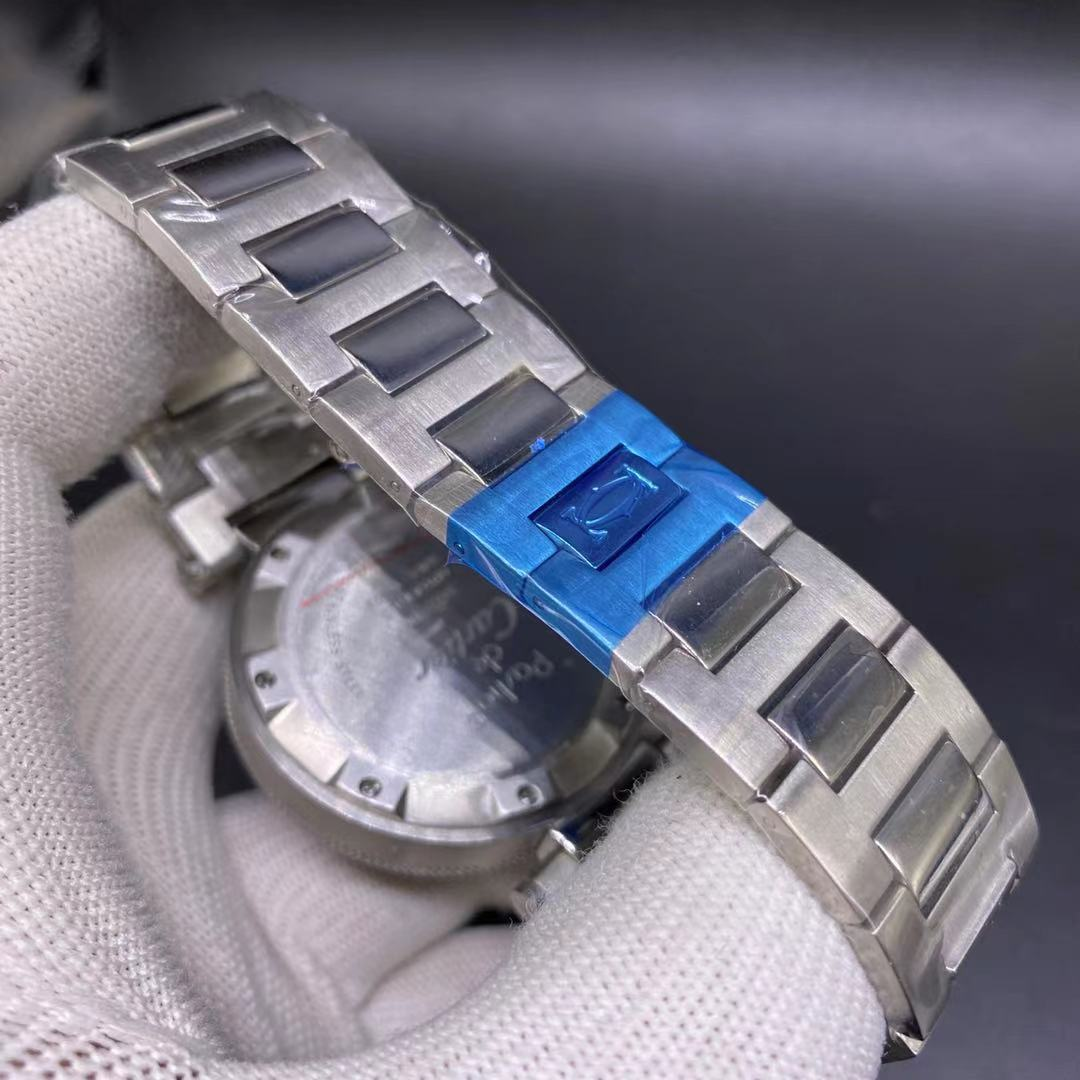 Cartier OS quartz 41mm silver/white M026