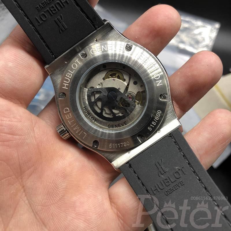 Hublot diamonds silver/white automatic XJ038