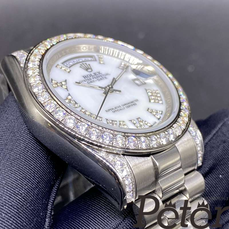 DayDate 40mm AAA white pearl dial BL029