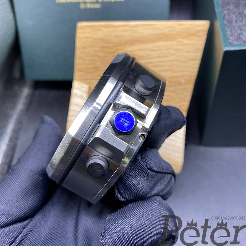 AP desk clock blue dial 65mm 350g WT105