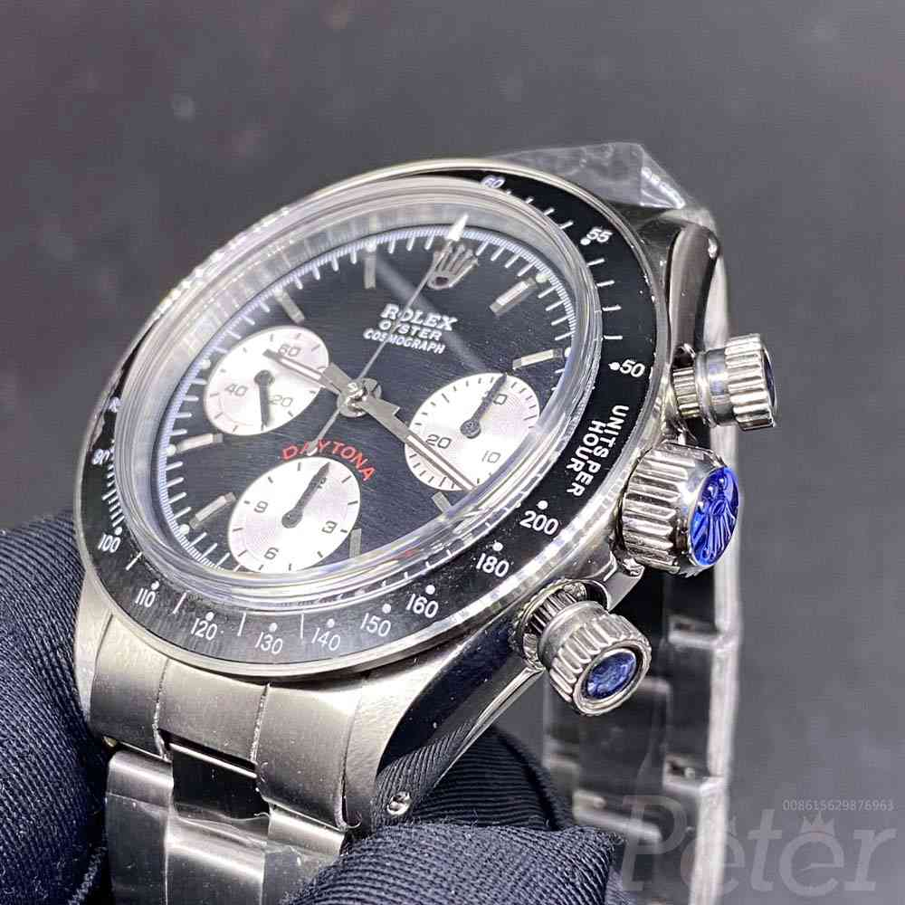 Daytona Paul Newman hands-winding 7750 black dial and gray dial M090