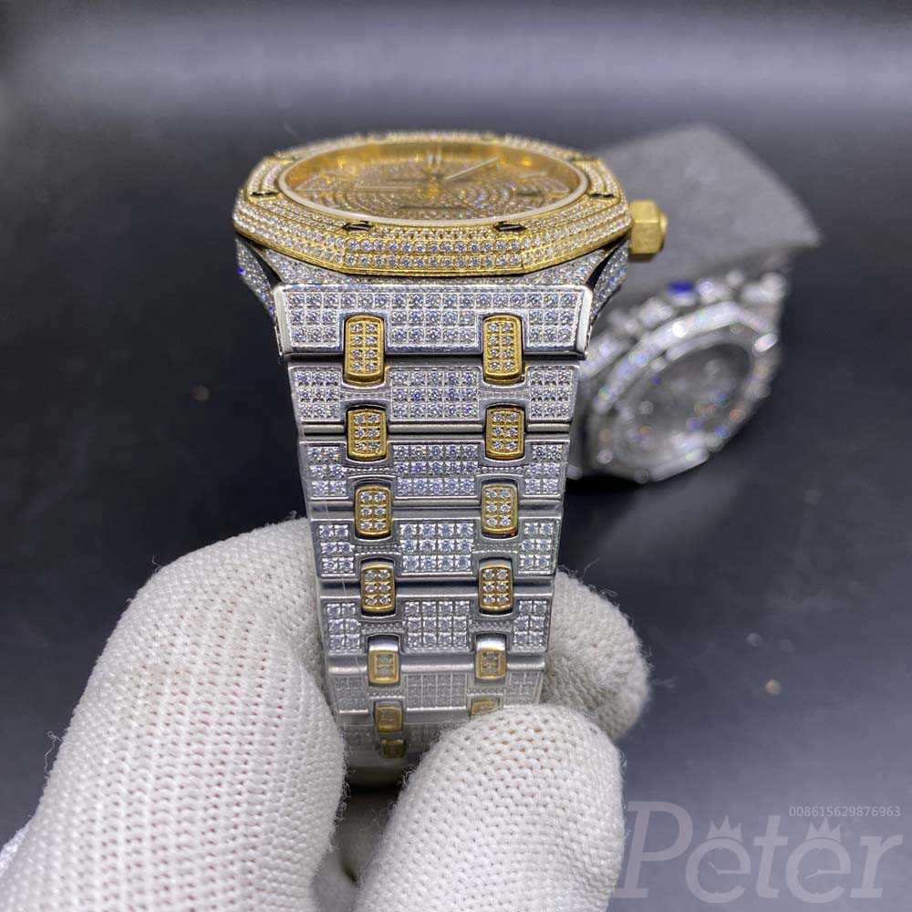 AP iced out two tone gold 42mm MADKK