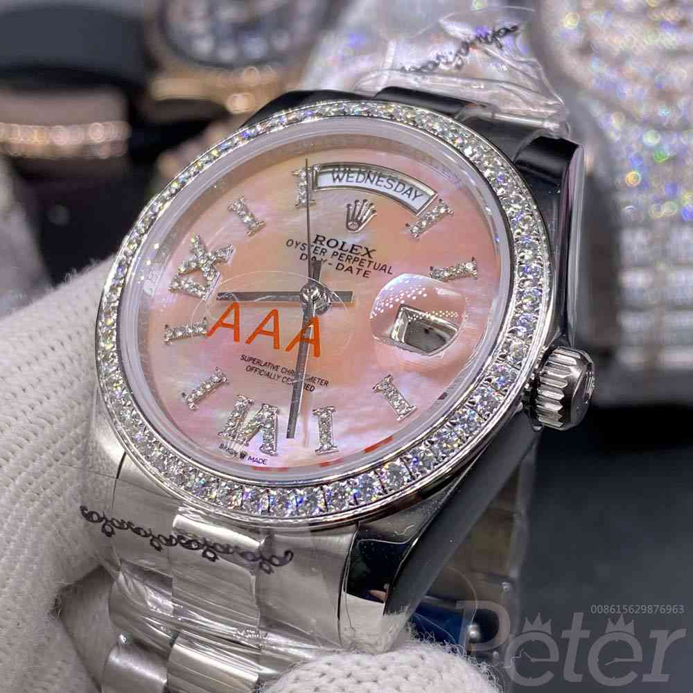 DayDate 36mm pink dial MH028