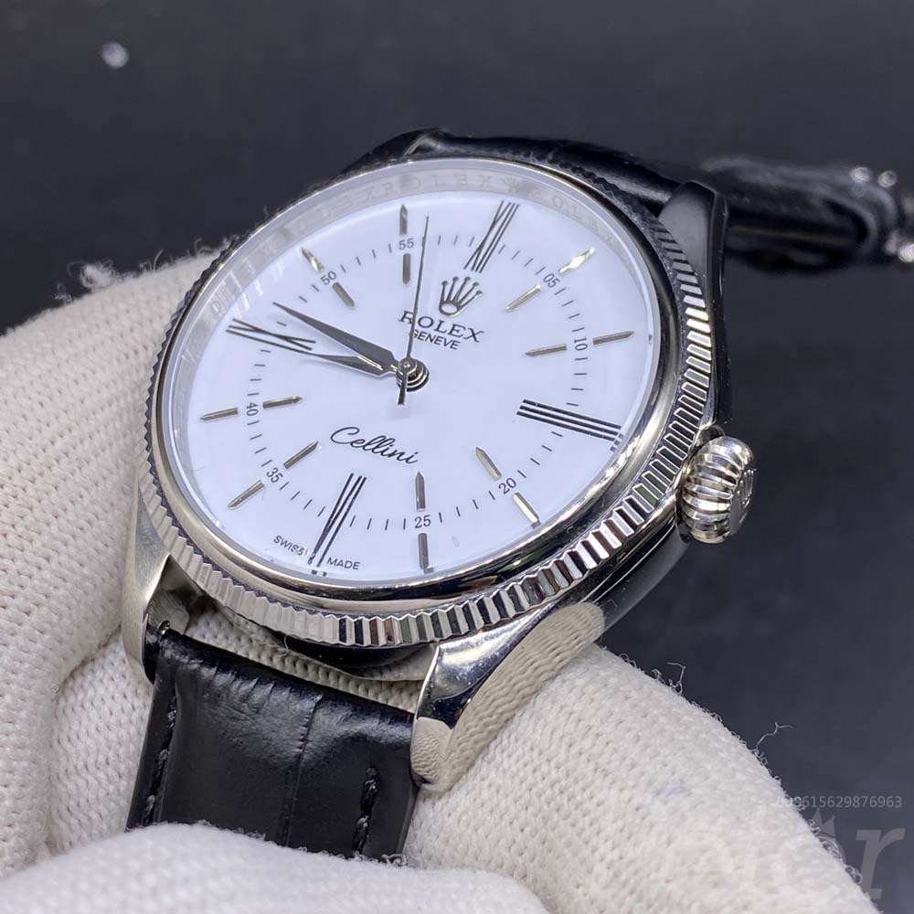Cellini 40mm white dial AAA MH021
