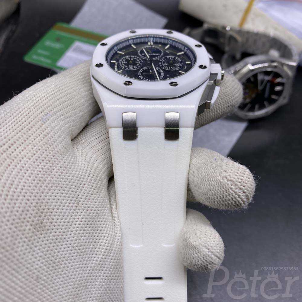 AP ceramic white case quartz movement Chun070