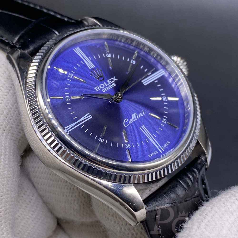 Cellini 40mm blue dial AAA automatic MH021