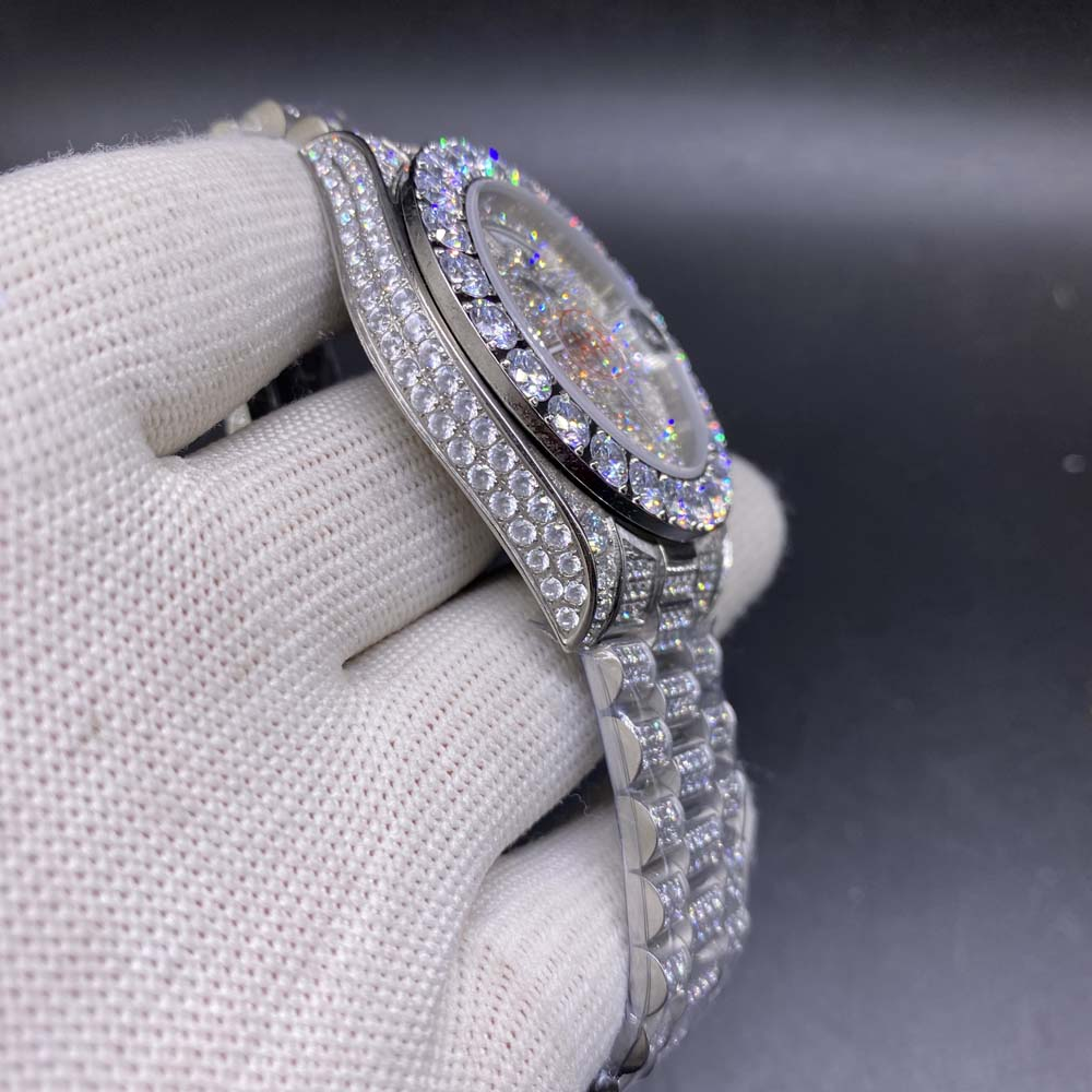 DayDate iced out 43mm AAA S095