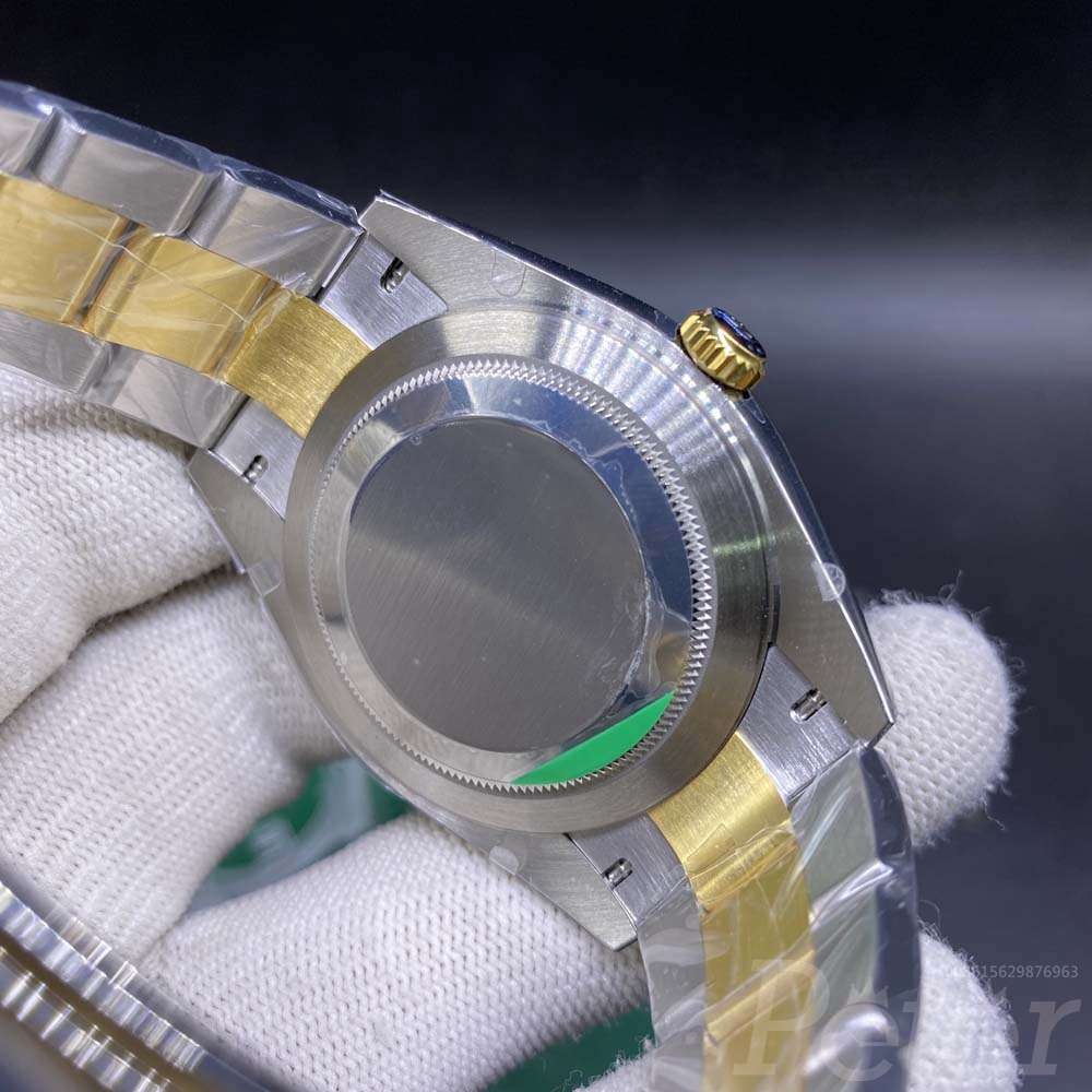 Datejust EW factory 3235 automatic two tone gold case 39.5mm M110