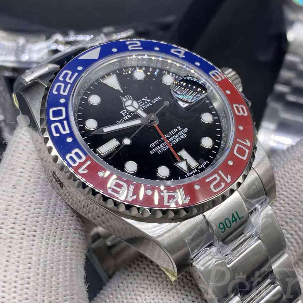 GMT Pepsi GS factory 904L steel 3186 movement WTxxx200
