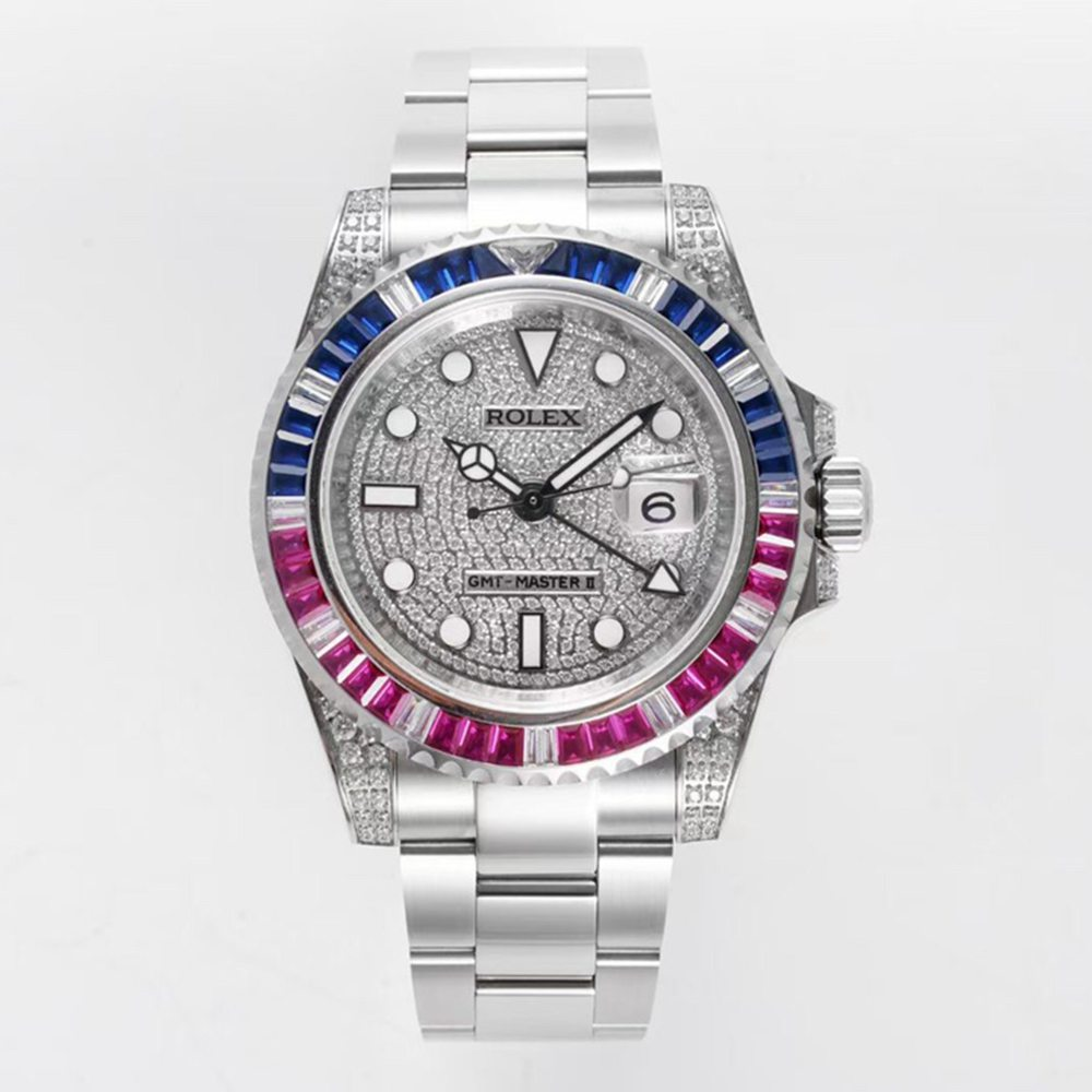 GMT master II KOF 2836 swarovski diamonds WT205
