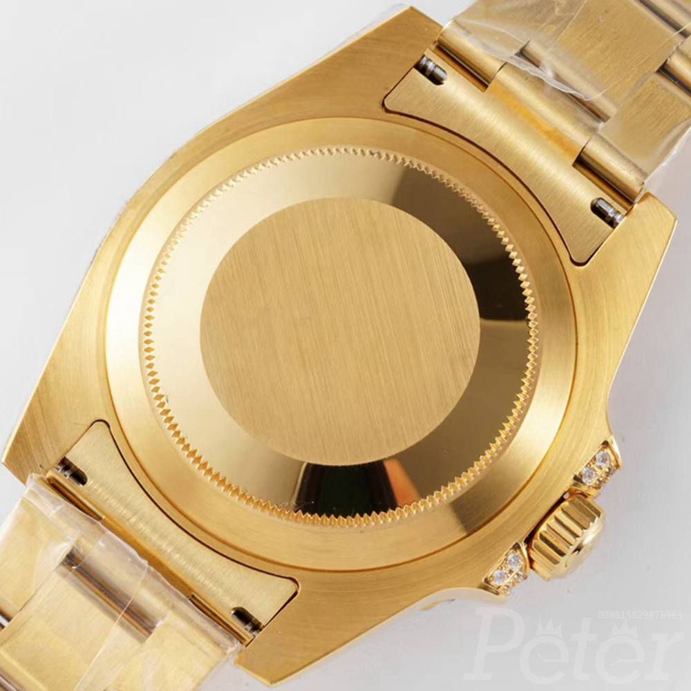 GMT ROF factory gold case 2836 movement WT205