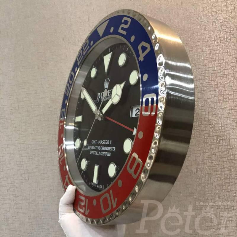 Wall Clock Rolex GMT Pepsi Battery