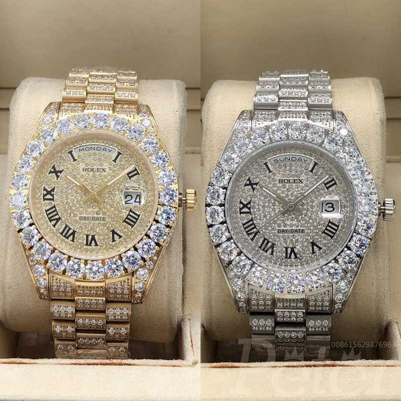 DayDate diamonds face 43mm S095
