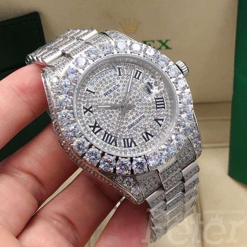 DayDate diamonds face 43mm S095