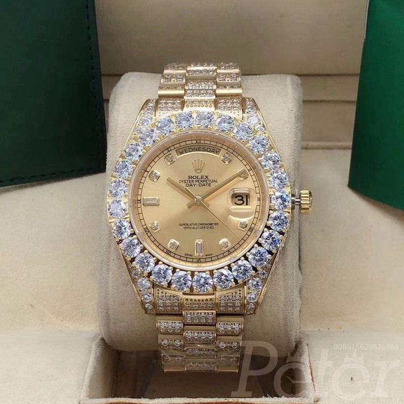 DayDate diamonds gold case 43mm S095