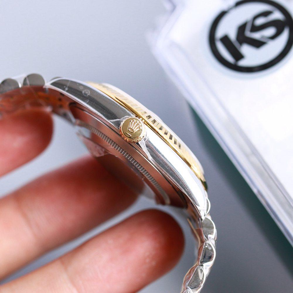 Datejust two tone gold case 39.5mm KS 2836 movement Swiss high grade