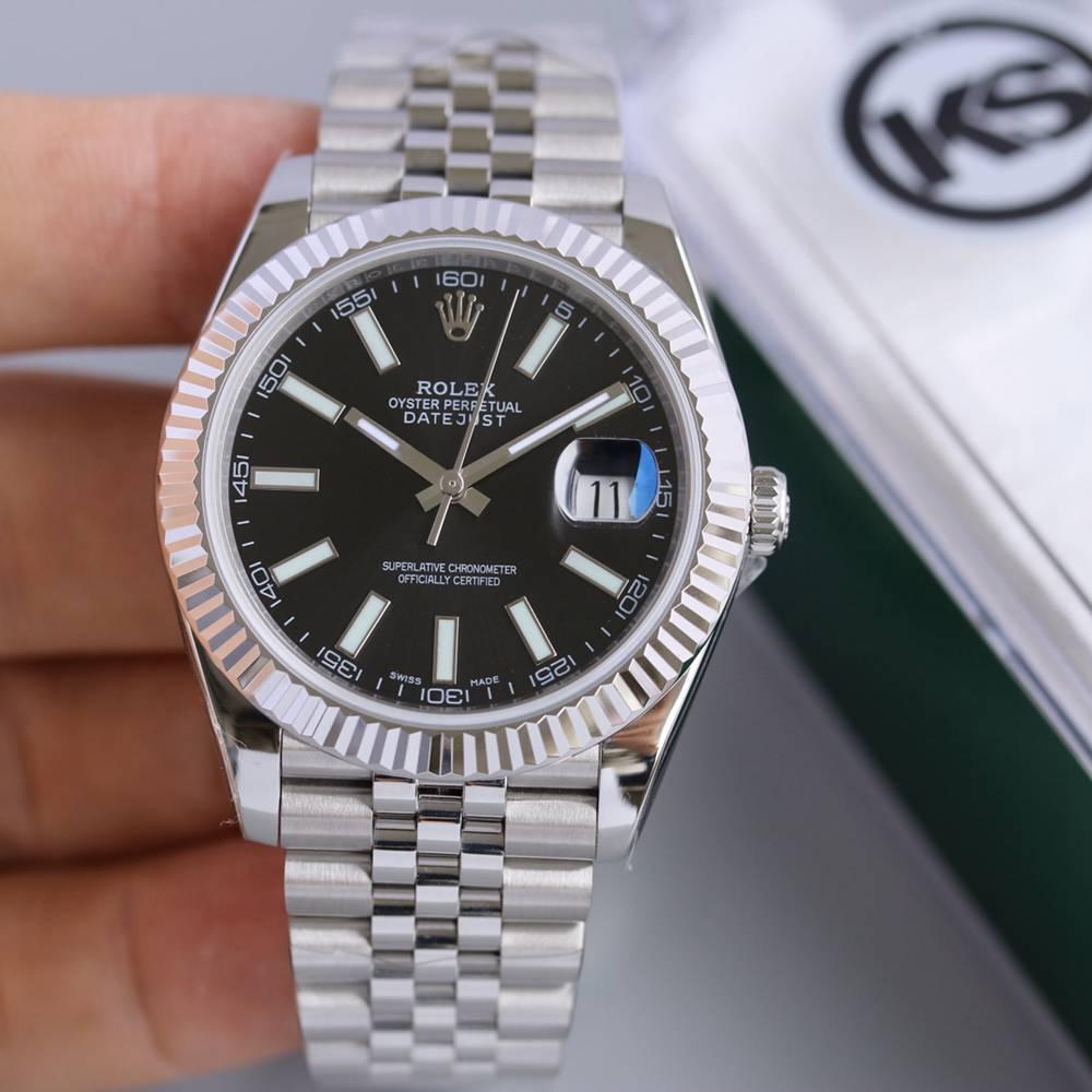 Datejust KS2836 39.5mm black dial jubilee band high grade KS100