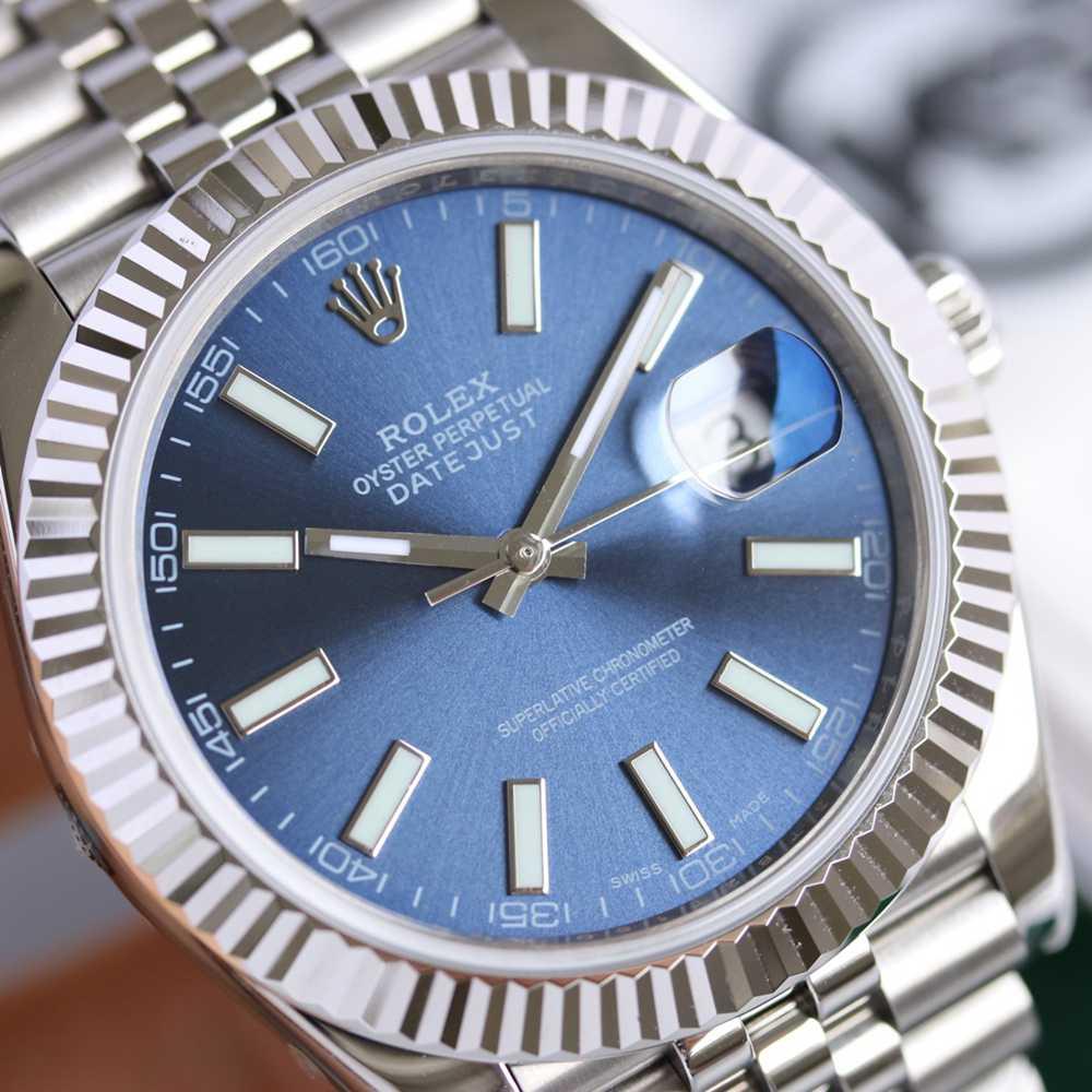 Datejust 39.5mm blue dial jubilee band KS factory high grade
