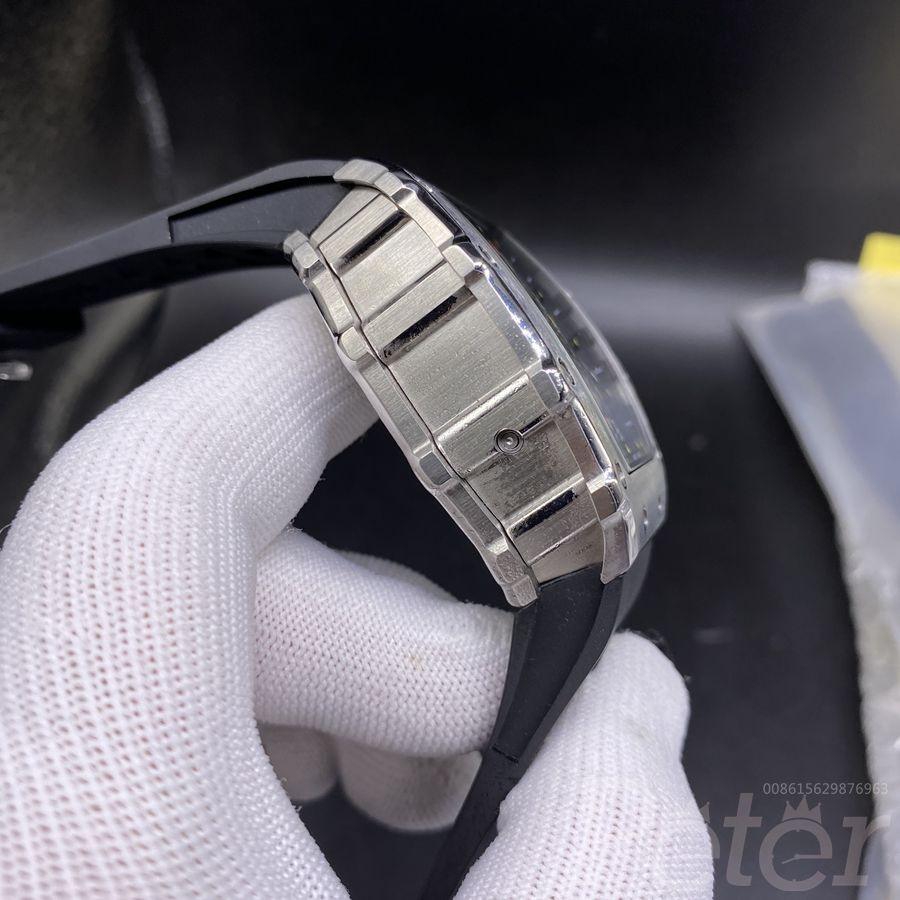 RM11-03 stainless steel case black rubber strap AAA automatic men RM watch XD055