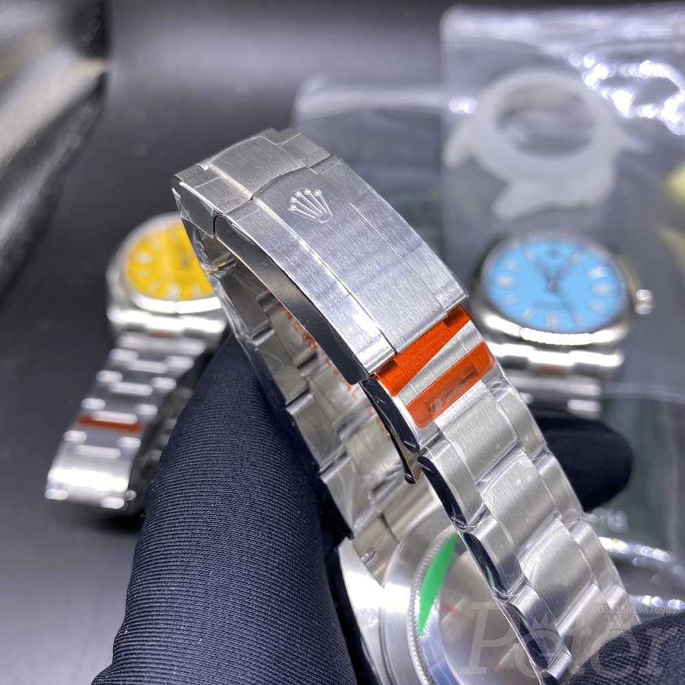 Oyster Perpetual orange face 39.5mm EW factory 3230 M110