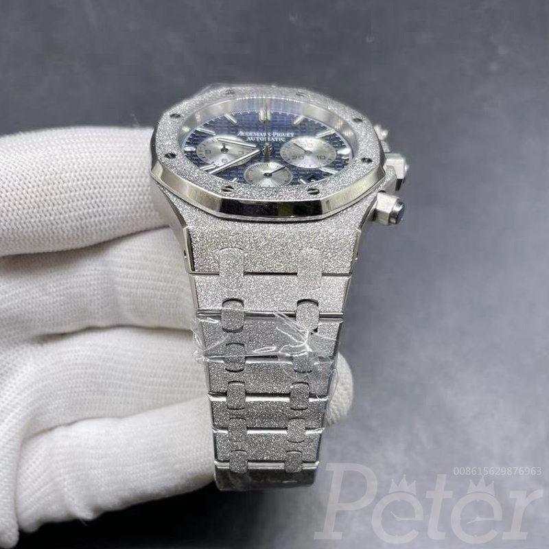 AP frosted case blue dial quartz movement XJ038