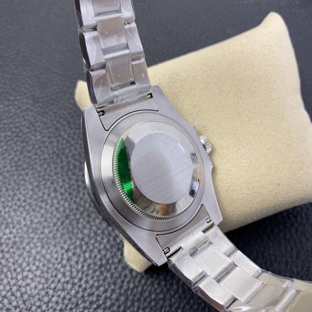 SUB black dial baguette stones bezel silver case 40mm KS factory high quality