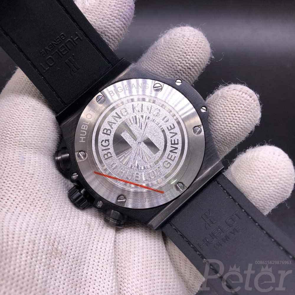 Hublot black vk quartz 42mm AAA stopwatch XJ030