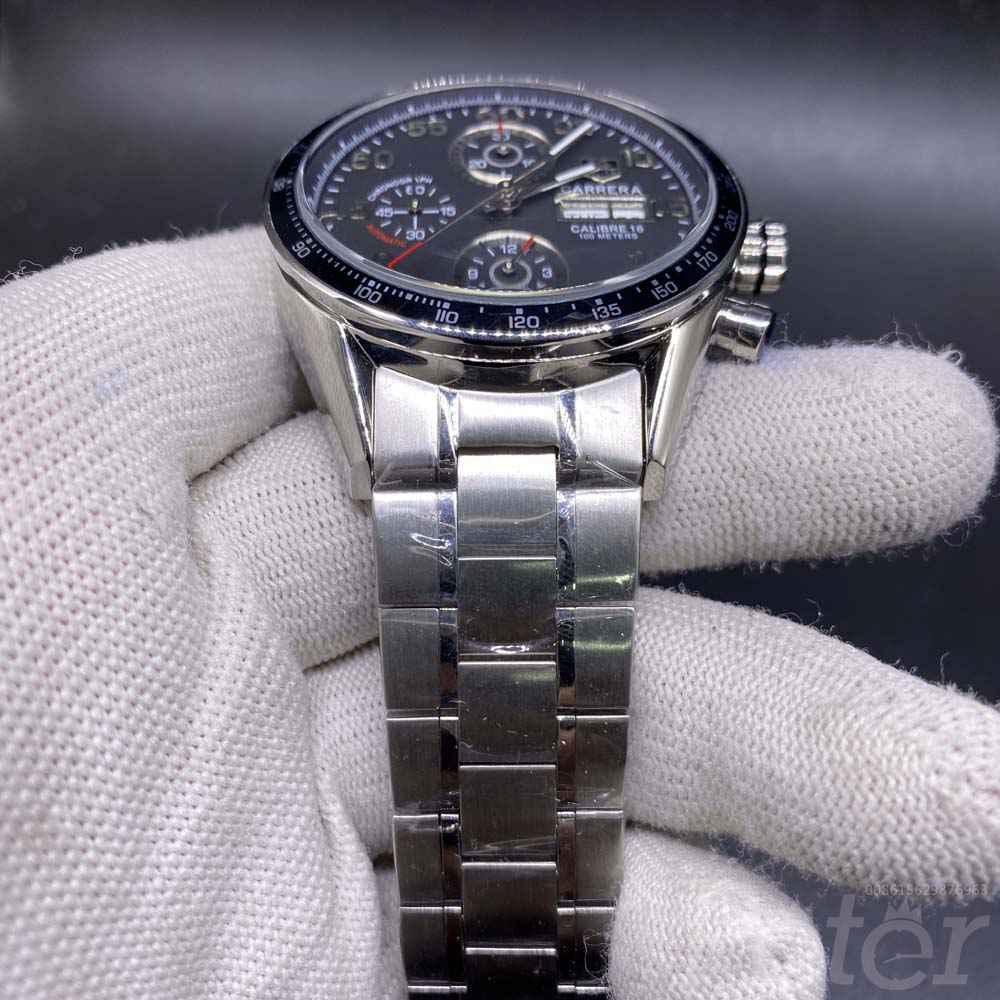 TAG AAA automatic silver/black all works but no chronograph M030