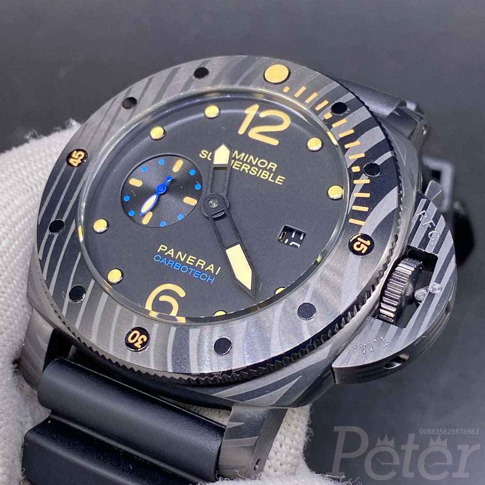 Panerai Submersible firenze 1860 full black 47mm M060