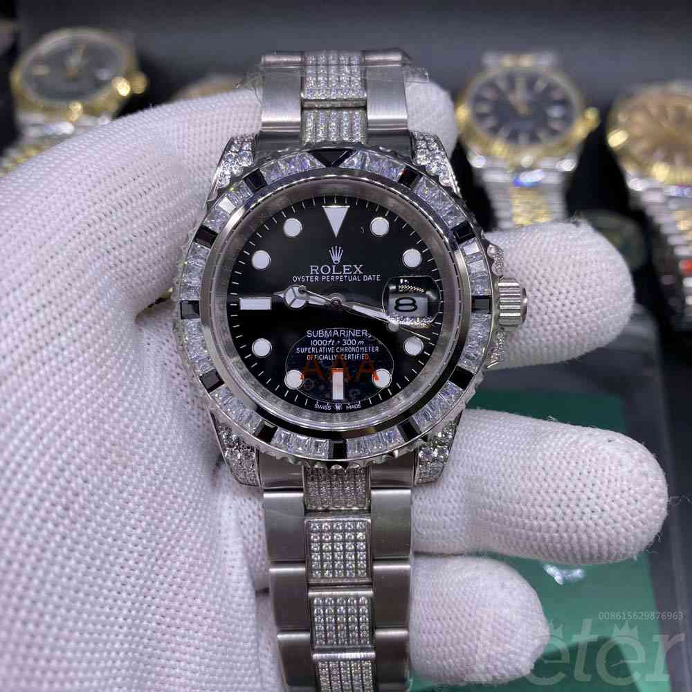 SUB diamonds bezel AAA automatic MH075