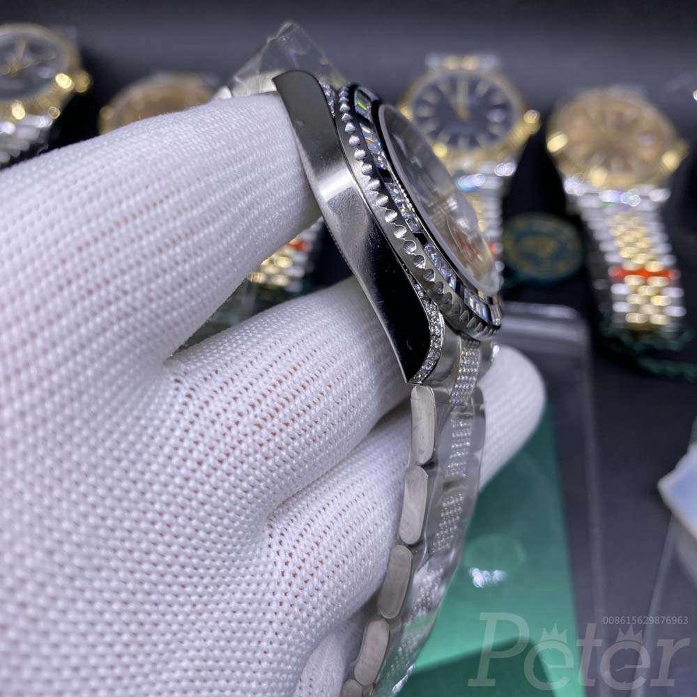 SUB diamonds bezel AAA automatic MH075