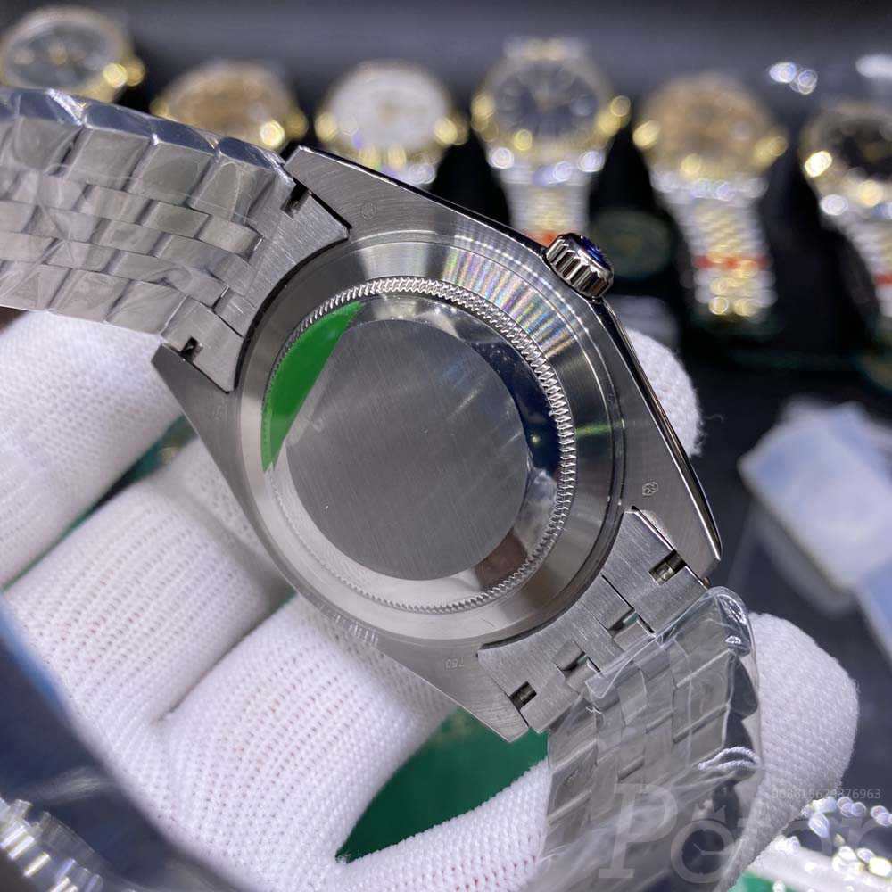 Datejust 40mm YT factory silver case blue dial jubilee band YT034
