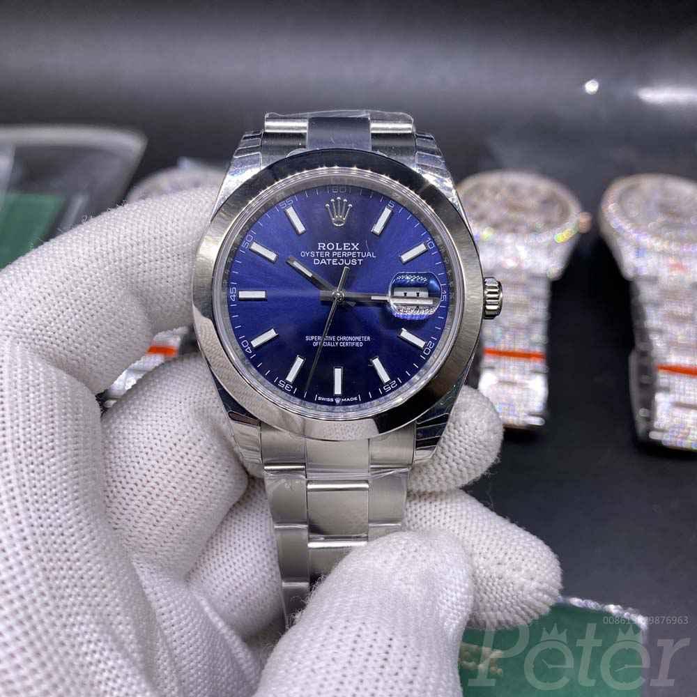 Datejust blue dial EW factory 3235 movement 1:1 grade M110