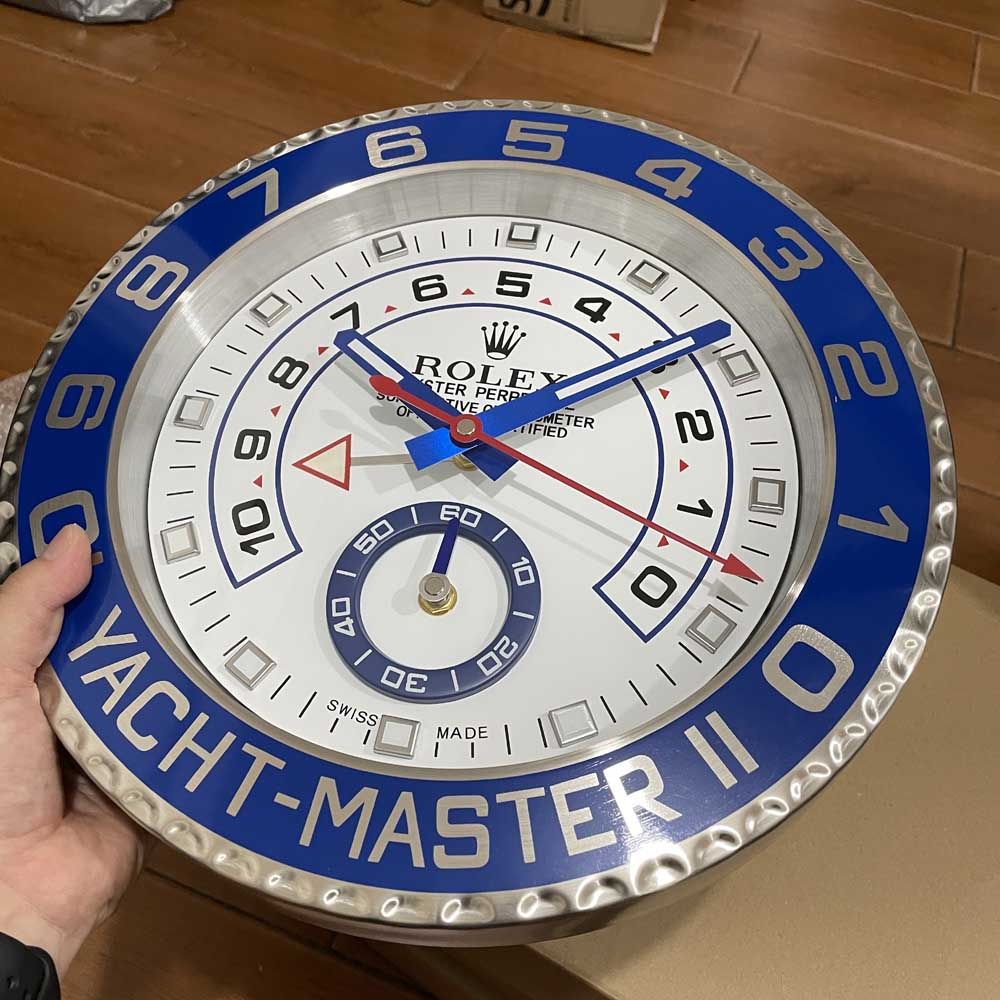 YM wall clock 34x5cm good quality