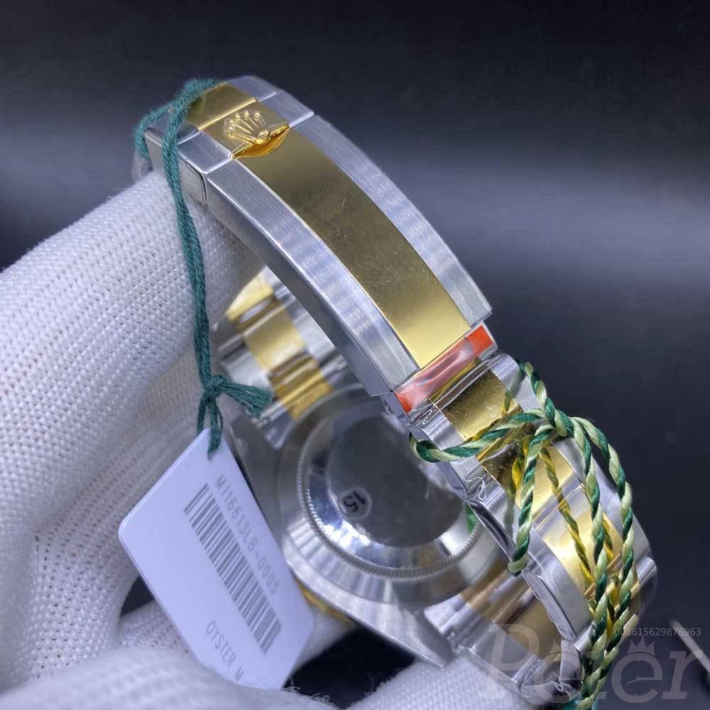 SUB two tone gold VS 3235 movement blue dial WT200