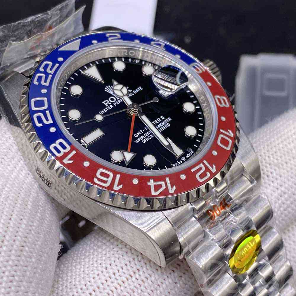 GMT Pepsi Noob 904L 3285 movement M210