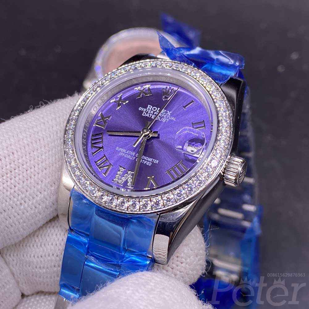 Datejust women size 31mm blue dial and pink dial automatic AAA Sxxx
