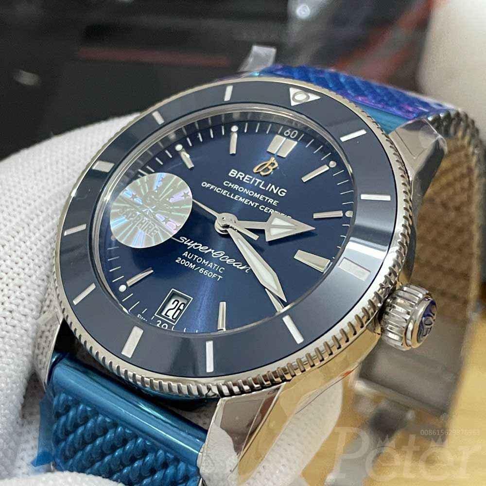 Breitling blue GF factory 42mm WT185