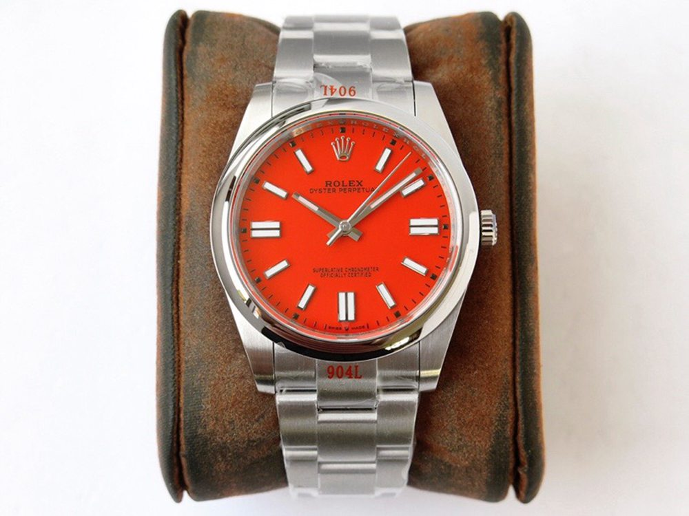 Oyster Perpetual 41mm GS factory 904L steel Seagull 2824 movement WTxxx
