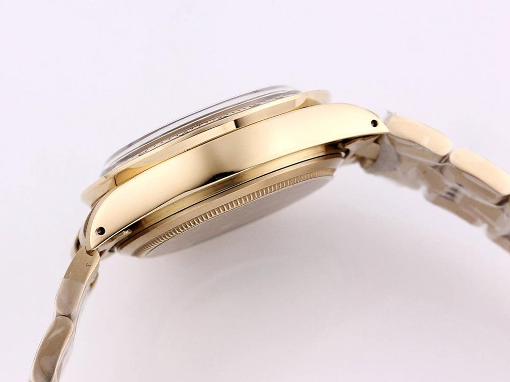 Daytona Paul Newman gold case 37.5mm black dial manual 7750 movement M095