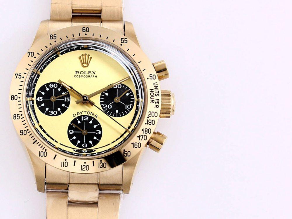 Daytona Paul Newman gold case 37.5mm hands-winding 7750 M095