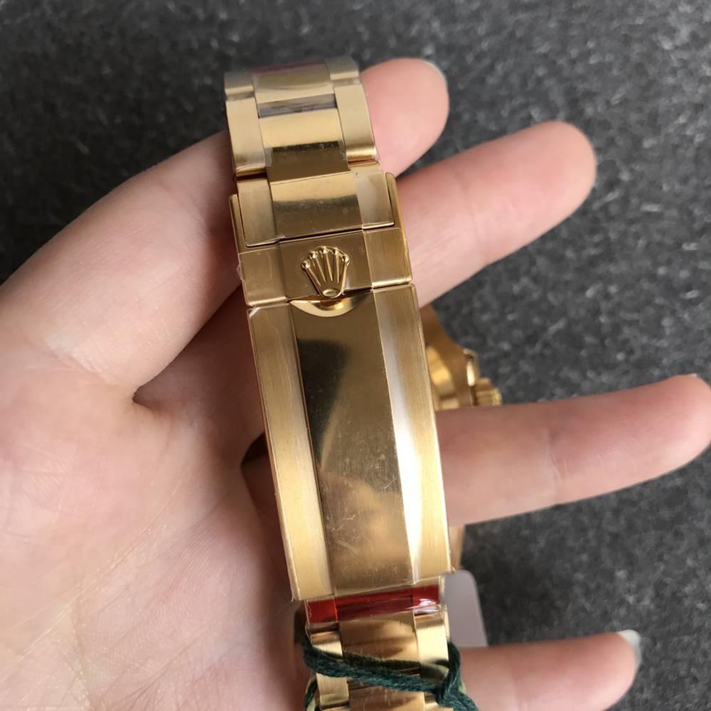 SUB gold case black dial VS factory top 1:1 3135 movement WTxxx