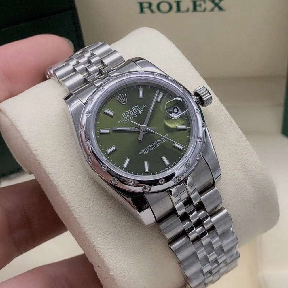 Datejust women 31mm green dial jubilee band AAA automatic Sxxx