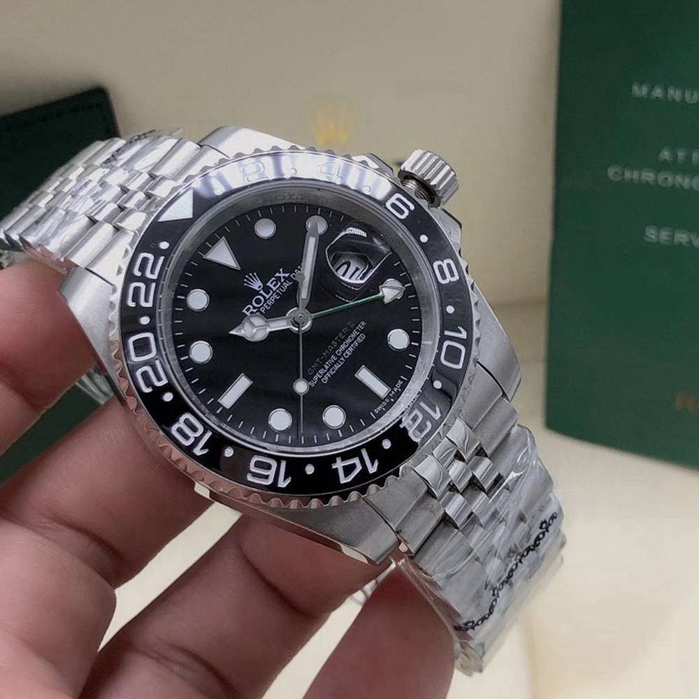 GMT jubilee band stainless steel case 40mm AAA automatic different bezels men watches Sxxx
