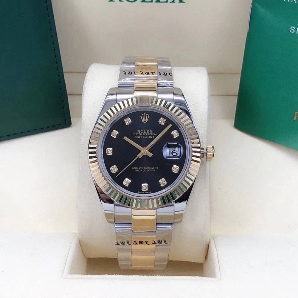 Datejust two tone gold case 40mm AAA automatic oyster band men watch S