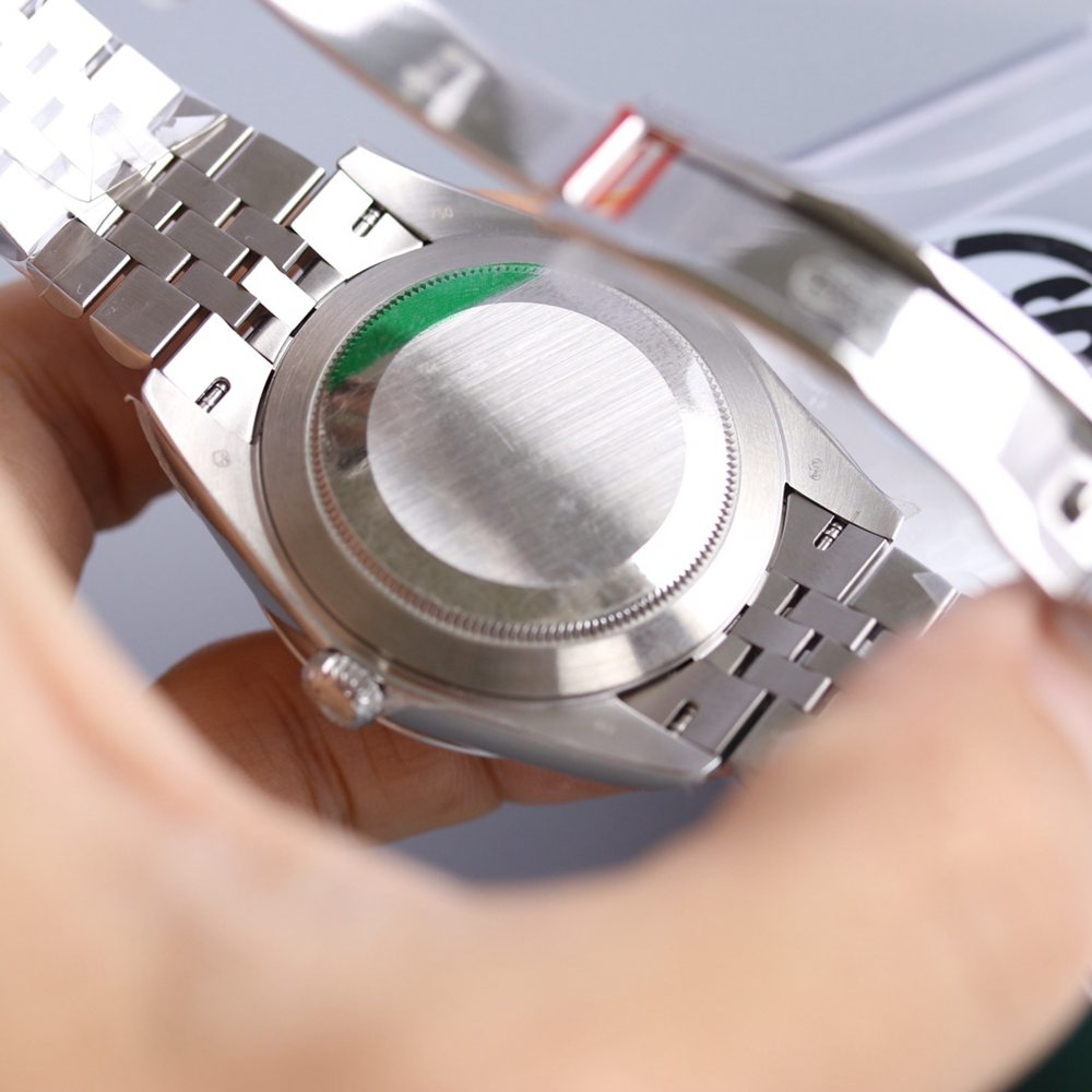 Datejust silver/black 39.5mm jubilee band KS factory 2836 movement high grade