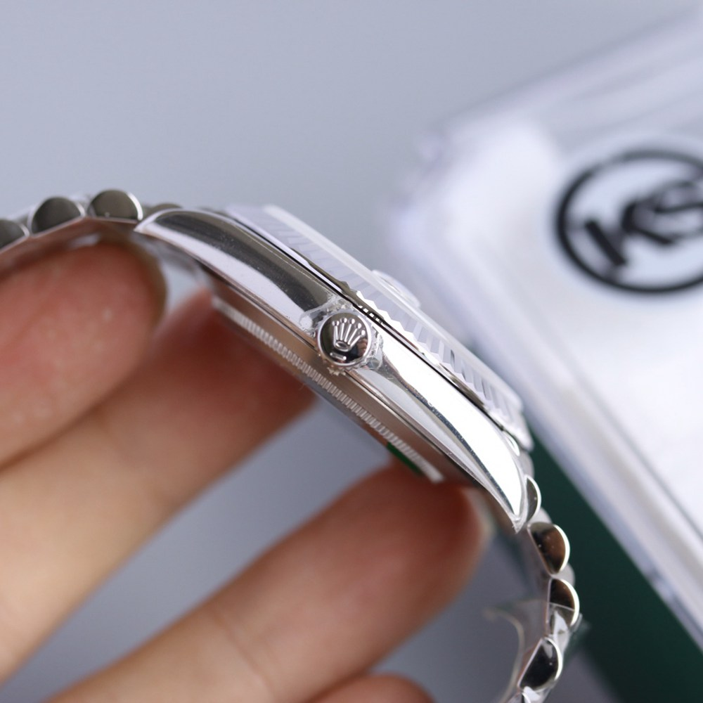Datejust silver/blue jubilee band 39.5mm KS 2836 movement high grade